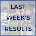 Last Week's Results