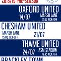 Pre-Season 2018/19