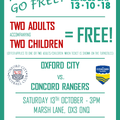 Non-League Day - Families Go Free