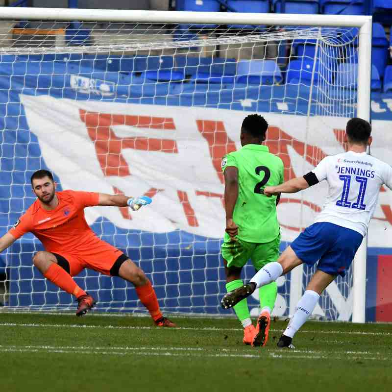 Tranmere Rovers - FA Cup (A) - 10/11/18