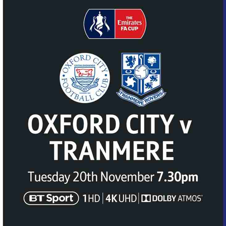 Tranmere Replay - Parking Arrangements