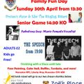 NRFC Fun day - Sunday 30th April