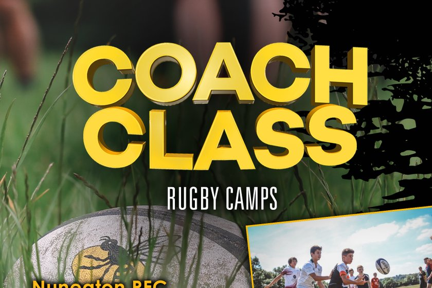 Wasps CoachClass dates for Nuneaton RFC....