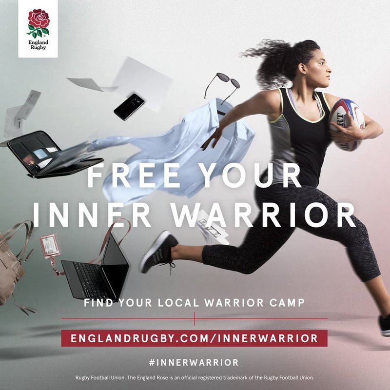 Womens Inner Warrior Rugby Camp - April 29th