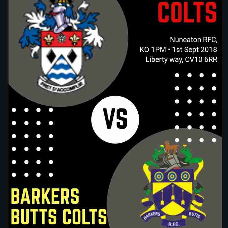 Nuneaton Colts ressurect for the first time in two seasons....