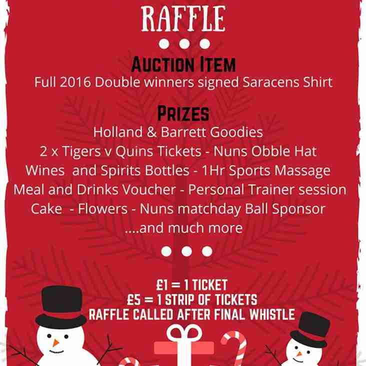 Get ready ... for the Nuns Colts Big Raffle this Saturday...