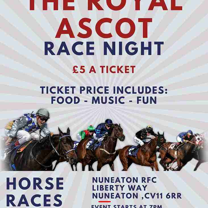 Tickets are still available for the Colts Fund-raising Race Night...
