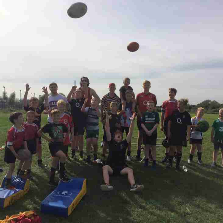 Nuns Summer Rugby Camp