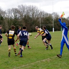 East Grinstead 2 Vs. Hellingly 2 Cup Semi Final