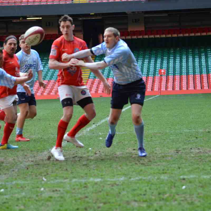 Llanelli Warriors at The Principality Stadium 30 April 2018 (Part 1)