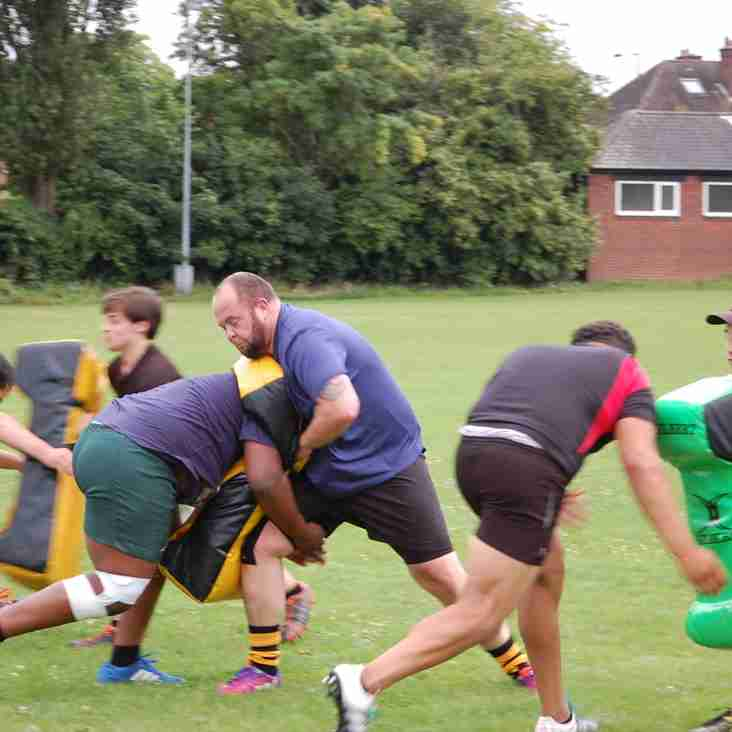 Aston finished as runners-up in Birmingham Barbarians Charity Tournament Saturday 19 August 2017