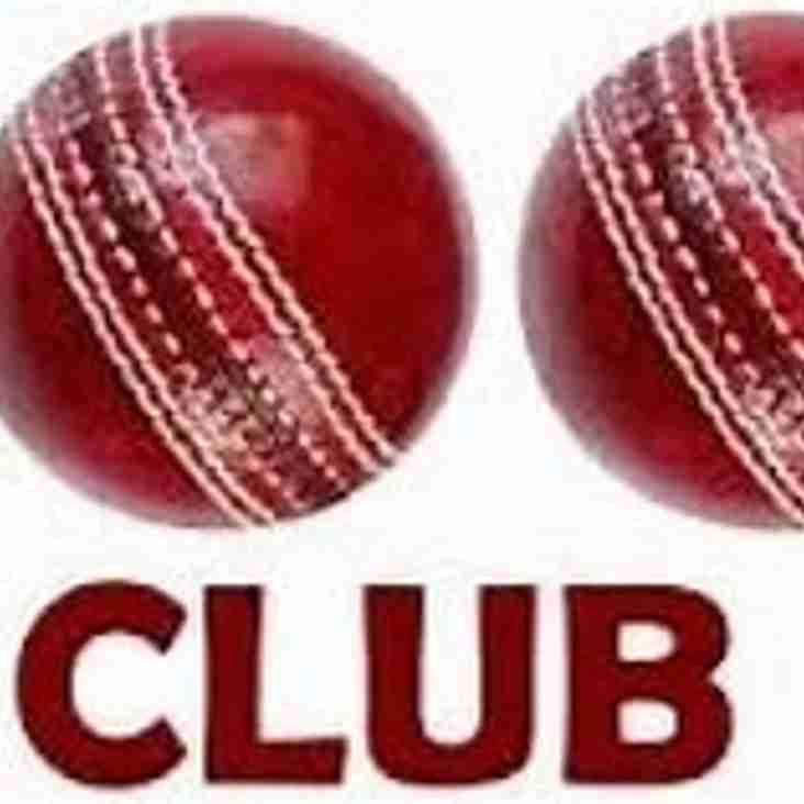 100 Club Winners December 2018