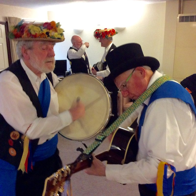 Leyland Morris Men at The Intact Centre