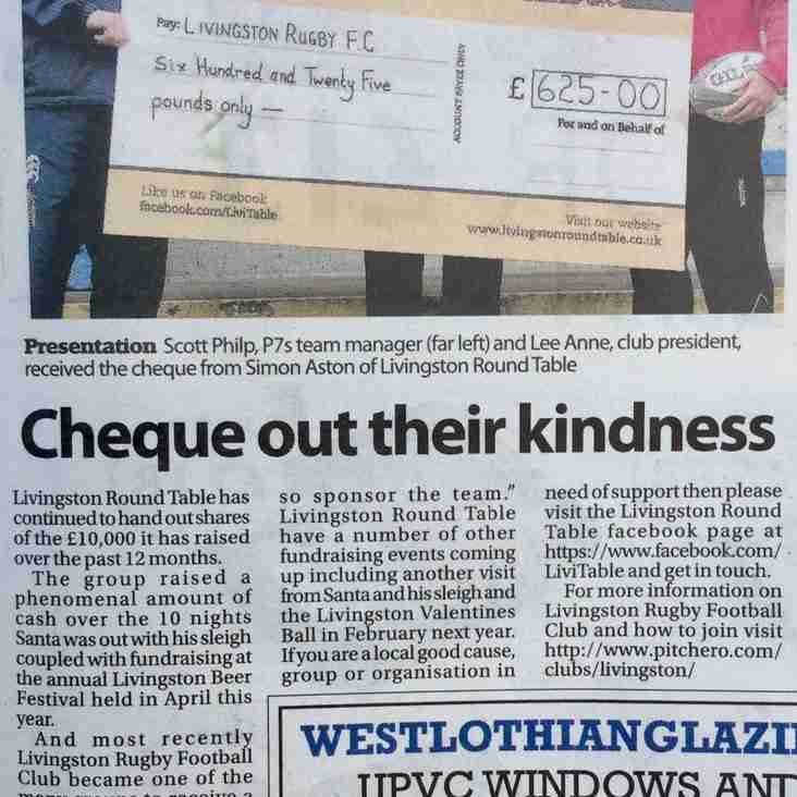 Cheque out the Courier!