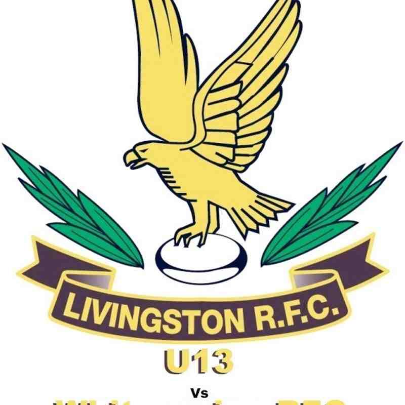 LRFC U13 v Whitecraigs RFC U13: Sun 5th November 2017