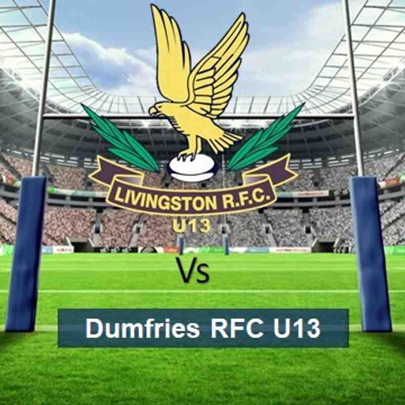 LRFC U13 v Dumfries Saints RFC U13: Sun 18th February 2018