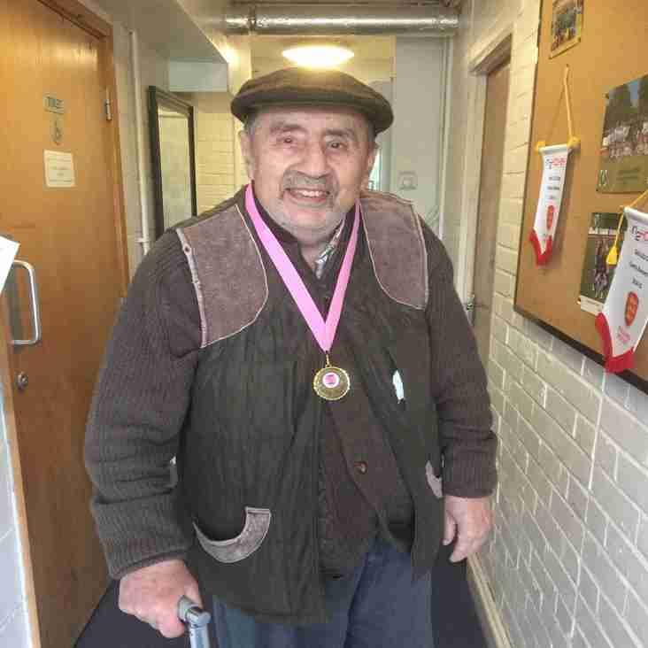 Farewell to 'Carlo's Dad', BHHC's great supporter