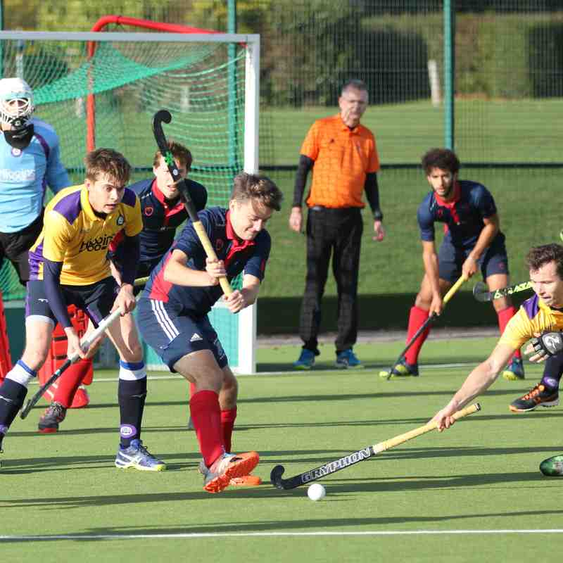 Men's 1s vs Old Loughtonians 11.11.2018 (Photo credit: Dave Baker)
