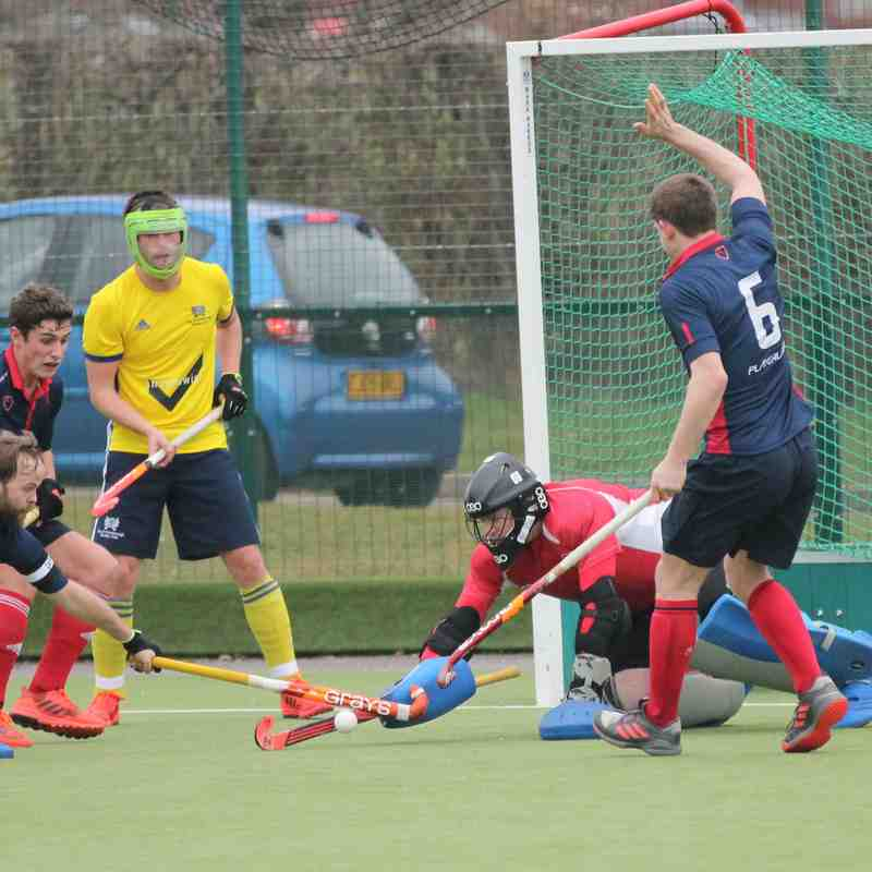 Men's 1s vs Peterborough 16.02.19 (Photo credit: David Baker)