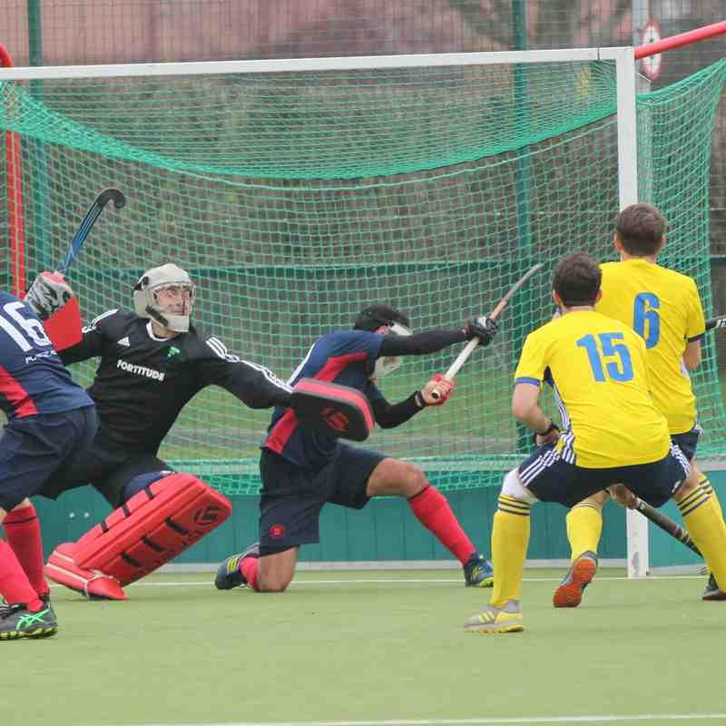 Men's 1s vs Peterborough 16.02.19 (Photo credit: David Baker)