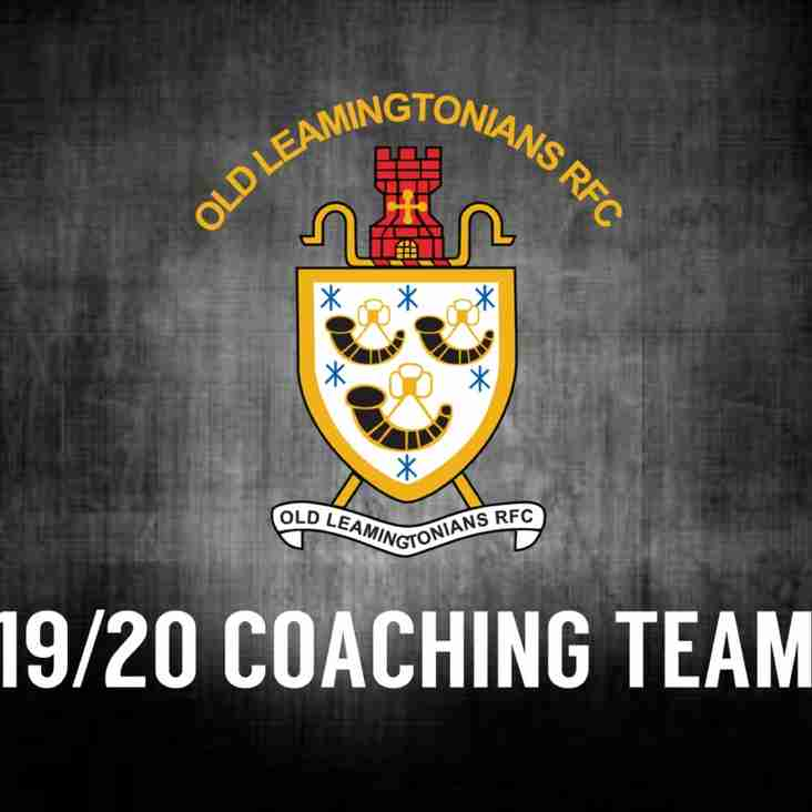 Exciting new coaching team announced