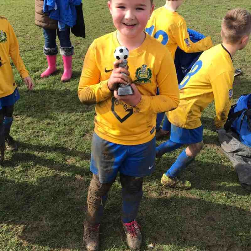 Bardwell Bullets Man of the Match