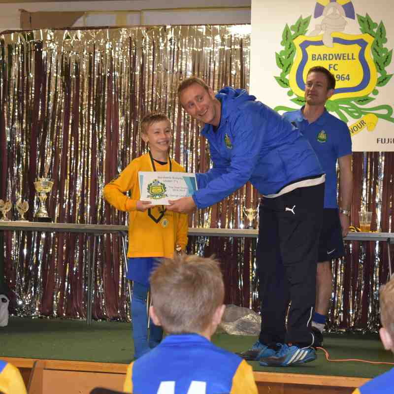 Bardwell Bullets Presentation Day