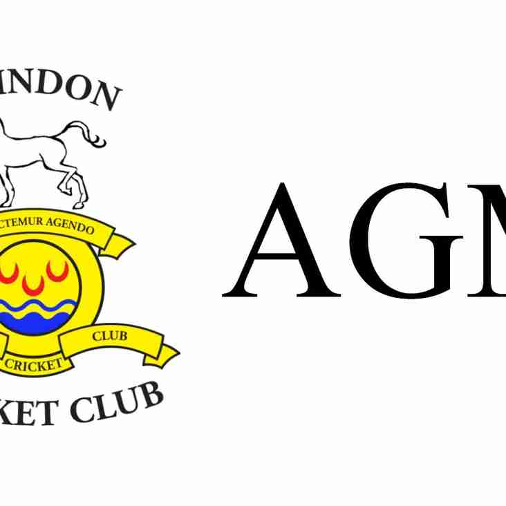 AGM Reminder & club roles for consideration