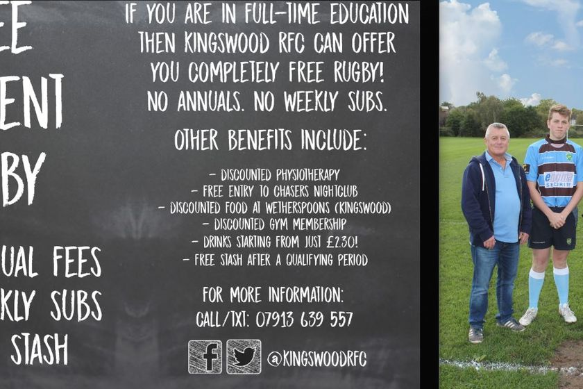 Academy Scheme well under way at Kingswood RFC