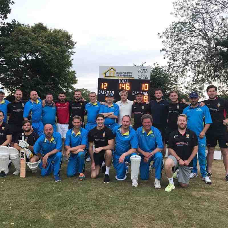 Frinton CC Bowled over by Colchester RFC