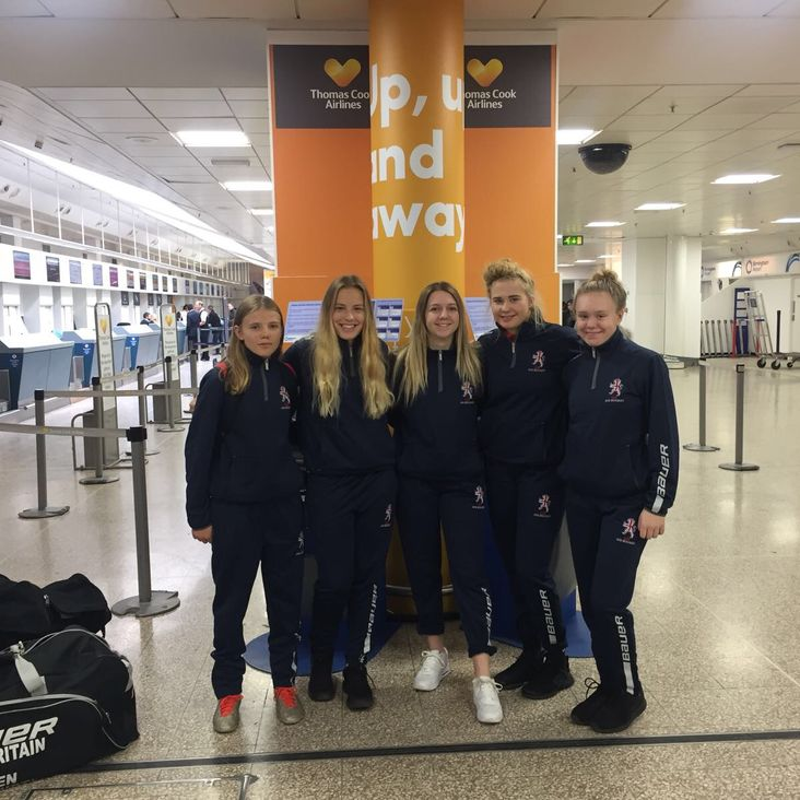 5 Queen Bee&#039;s travel to Granada with GB U18 Womens<