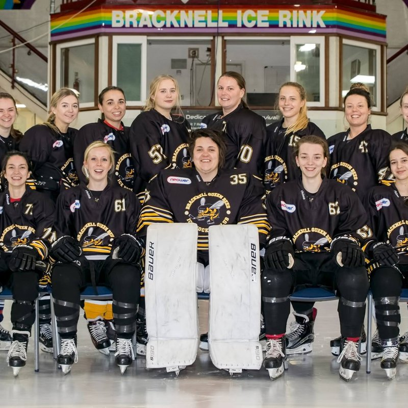 Bracknell Queen Bees  beat Guildford Lightning 5 - 0