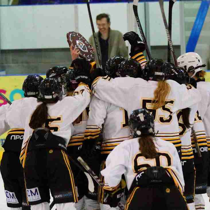 Queen Bees & Ice Bees in action at Womens Playoff Weekend