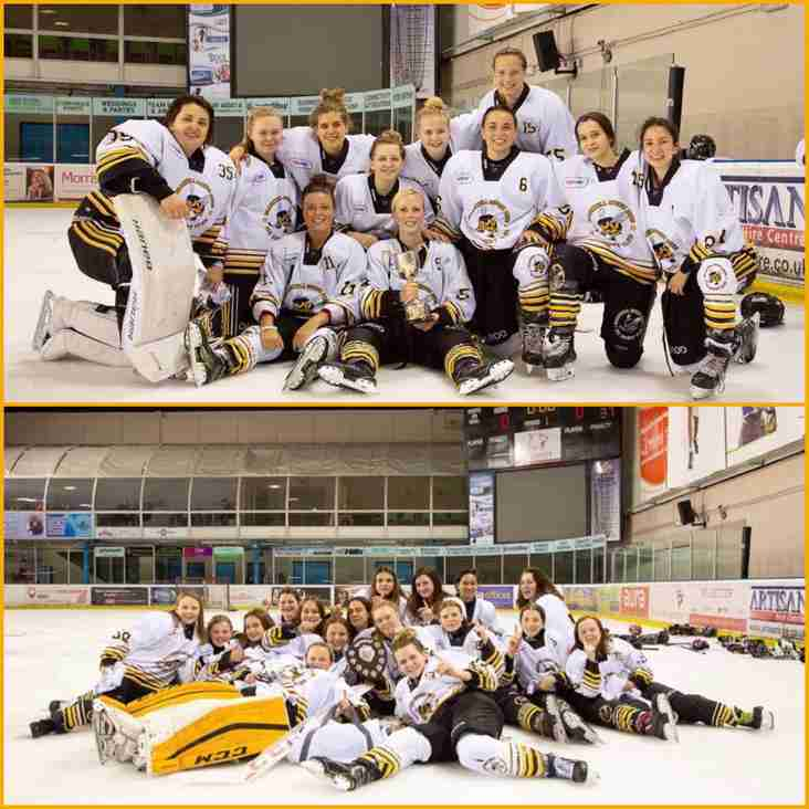 Successful BWIHF Tournament for Bracknell Queen Bees IHC!
