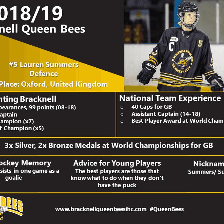 Queen Bee Player Profiles