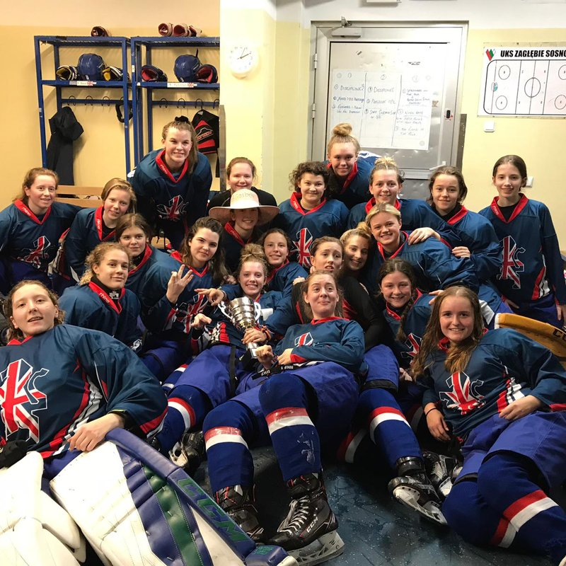 5 Bracknell Players in the Great Britain U18 Womens Team