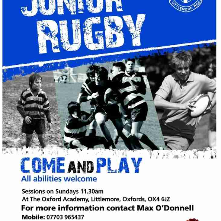 Littlemore rfc junior section app