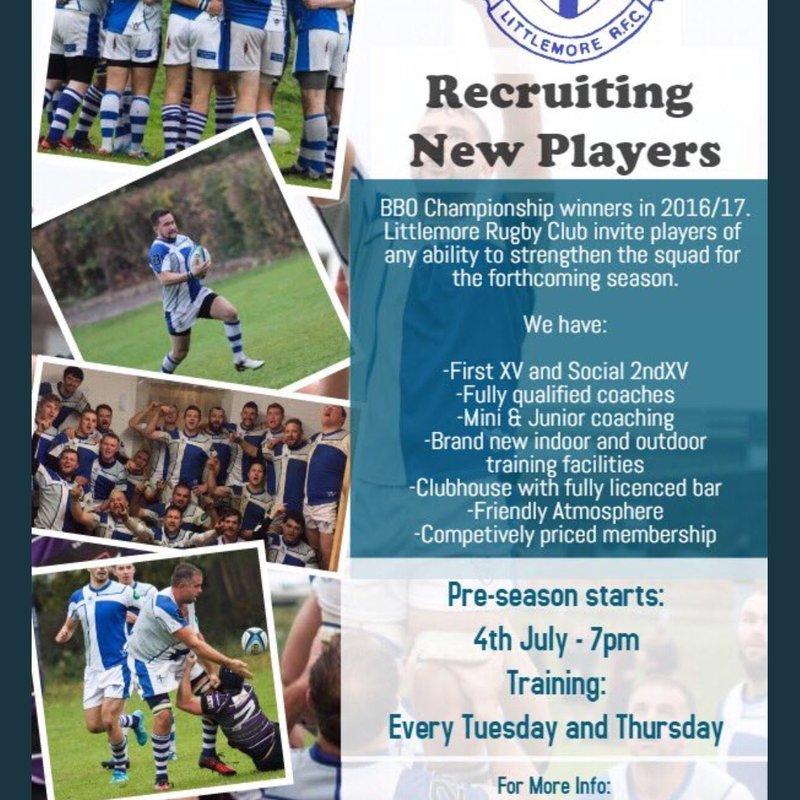 Player recruitment 2017/18