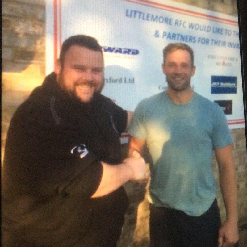 Frank jones joins littlemore rfc in coach role