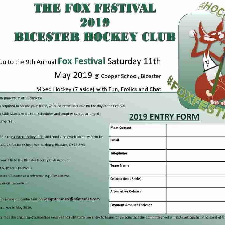 Fox Festival 2019