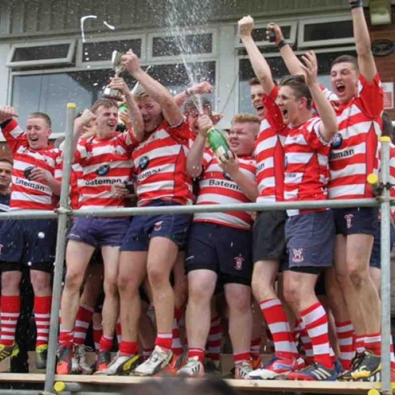 Vale of Lune Junior Colts - Lancashire Cup winners 2014