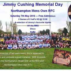 Cush Memorial Day 7th May 2016