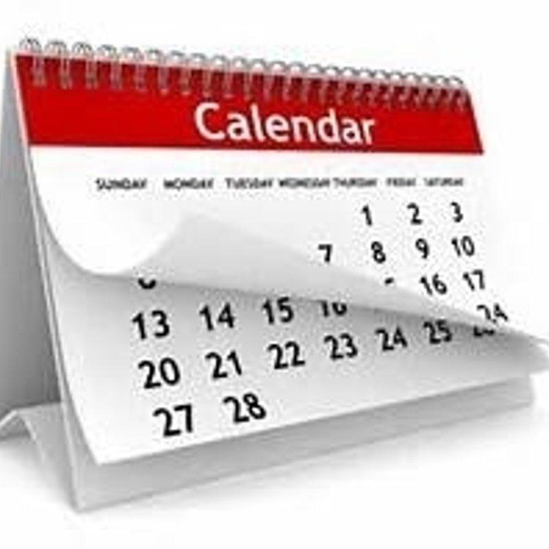 Your May Calendar