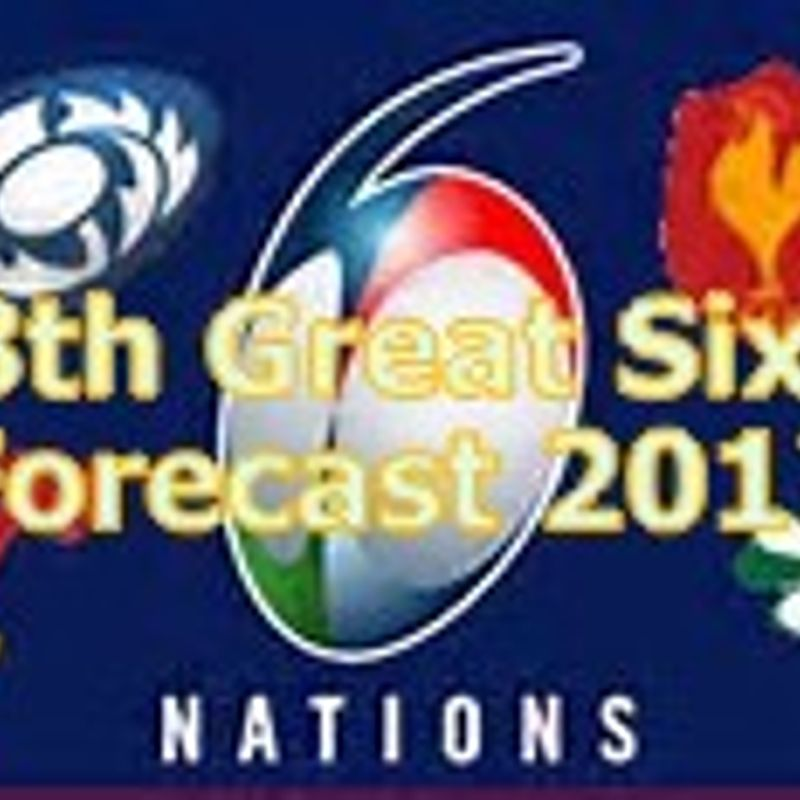 NHRFC's 8th Great Six Nations Forecast: Provisional Result