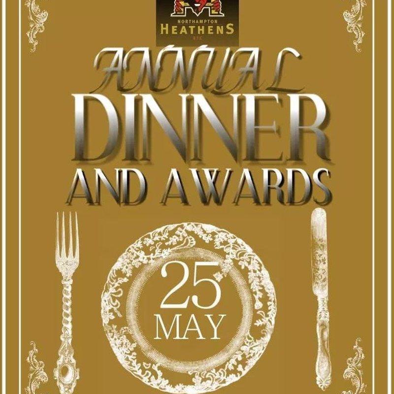 Annual Dinner & Awards Night