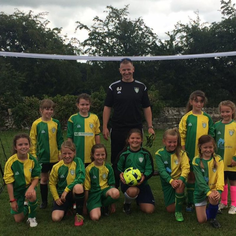 Henllan Giants (U10 Girls) beat Llandudno Girls 6 - 3