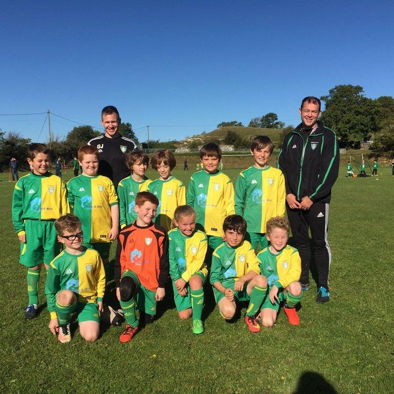 Henllan Dragons (U11) beat Kinmel Bay 4 - 1