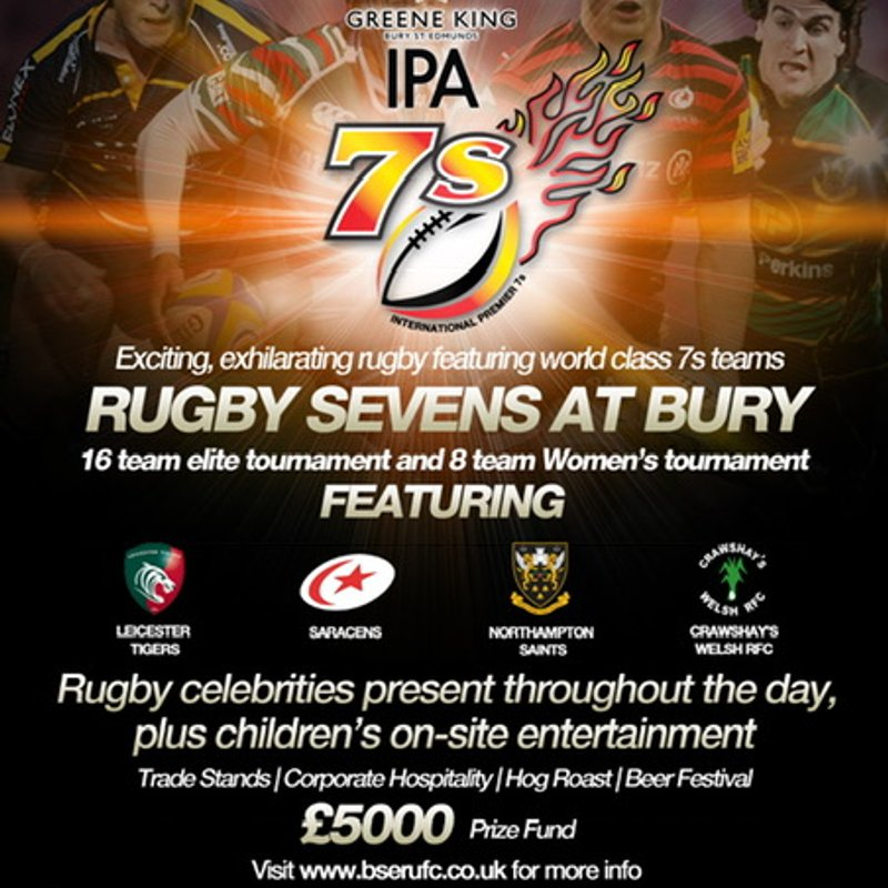 Tom Youngs - Hooker for Leicester Tigers and England, confirmed as our celebrity guest at this year's GK IPA 7's Tournament