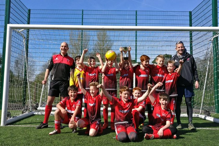 Hart Panthers U11 Win Cup Final