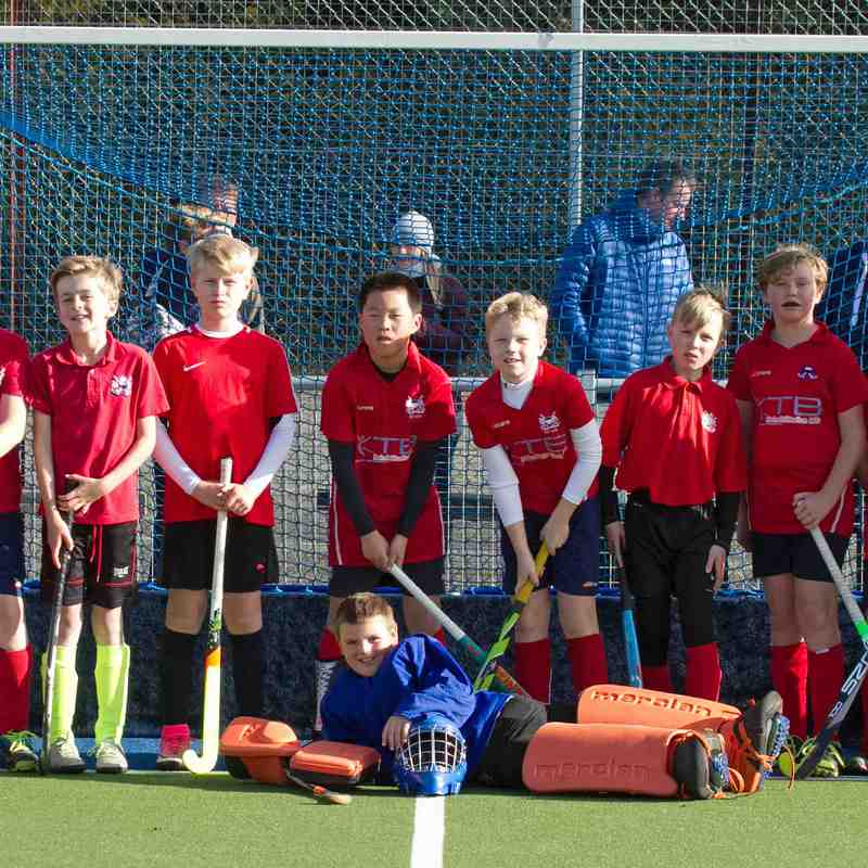 Boys Under 12's Kent Tournament - 5th November 2017